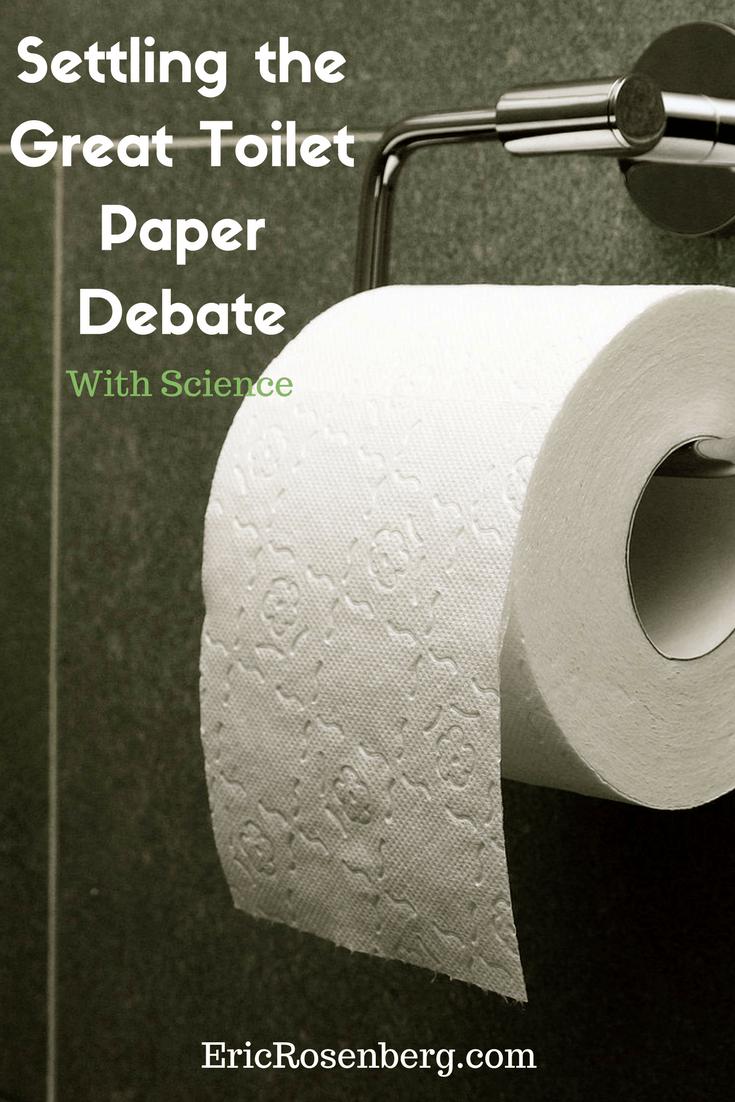 Settling the Great Toilet Paper Debate